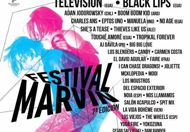 Festival Marvin 2017: tres días de música, cine y arte en el Circuito Roma-Condesa
