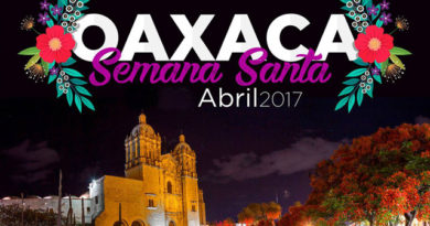 Celebraciones religiosas Semana Santa 2017 en la Ciudad de Oaxaca