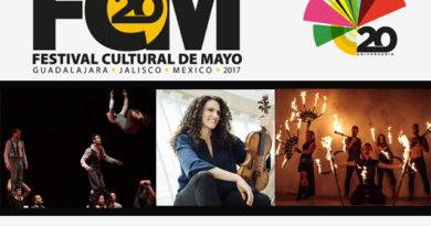 Programa de eventos del Festival Cultural de Mayo 2017 en Guadalajara