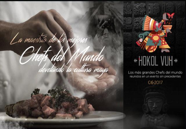 Hokol Vuh 2017: evento gastronómico sin precedentes en Yucatán