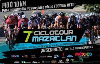 7° Ciclotour Mazatlán: ¡disfruta del oceáno y recorre el malecón en bicicleta!