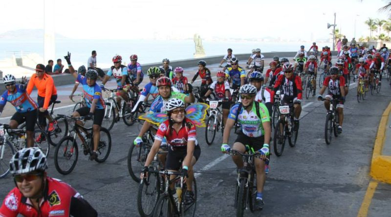 El próximo 9 de diciembre se llevará a cabo el 7° Ciclotour Mazatlán.