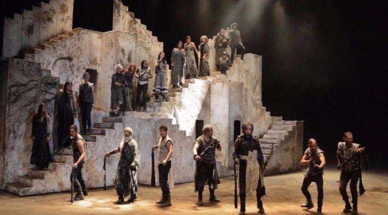 No te pierdas Numancia, obra llevada a escena por la Compañía Nacional de Teatro.