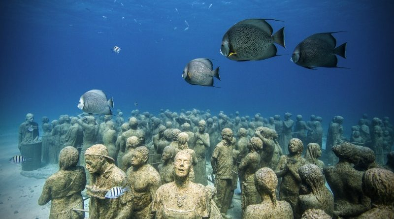 Conoce el MUSA, el Museo Subacuático de Arte en Cancún.
