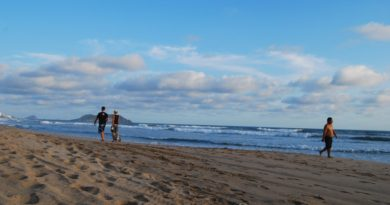 Playa Brujas en Mazatlán, Sinaloa, es quizás la playa más especial.