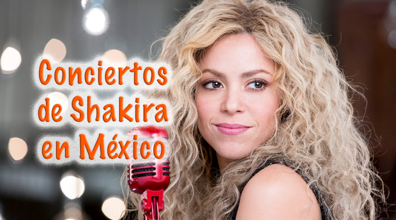 Conciertos de Shakira en México
