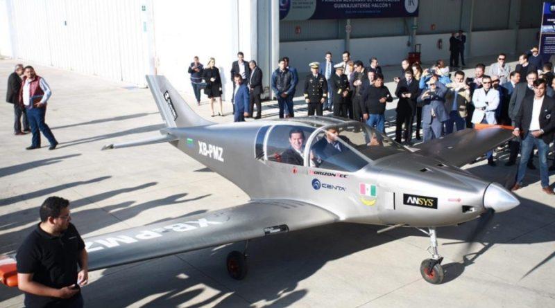Halcón 1, el primer avión construído 100% en Guanajuato.