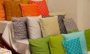 Beautifully embroidered decorative cushions