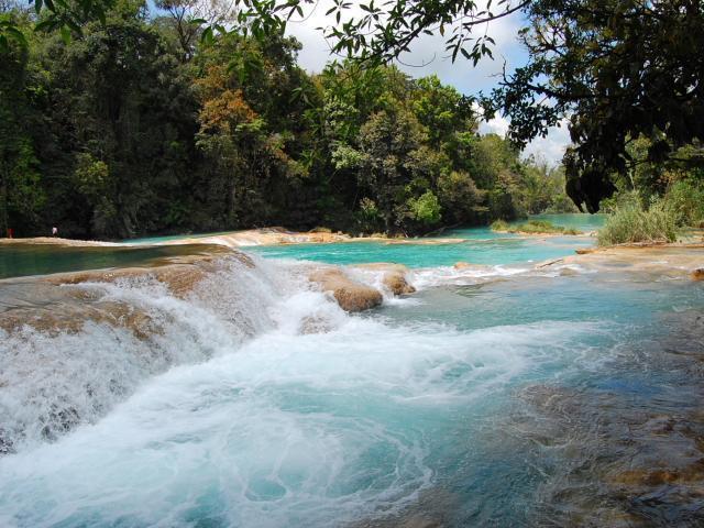 Cascadas de agua azul san cristobal de las casas for Cascadas de agua