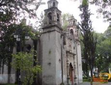 La Conchita Plaza and Chapel