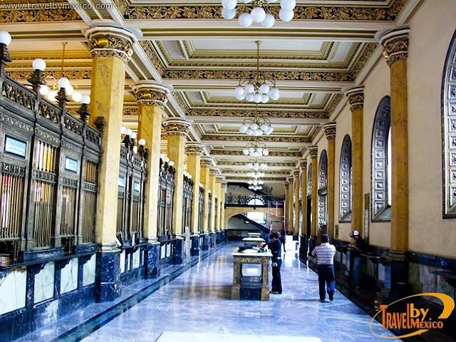 Palacio de correos de m xico ciudad de m xico for Horario de oficina correos