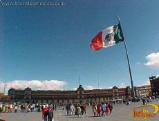 Mexico City's Zocalo - Constitution Square
