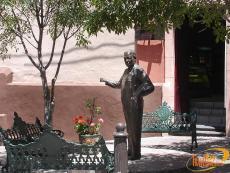 Statue de Diego Rivera