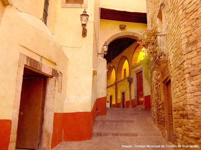 Calles De Guanajuato Guanajuato