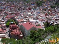 The romantic city of Guanajuato