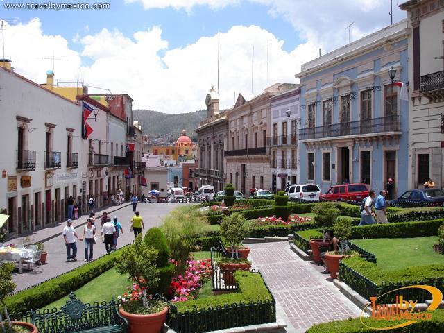 Plaza de la Paz, Guanajuato   Travel By México