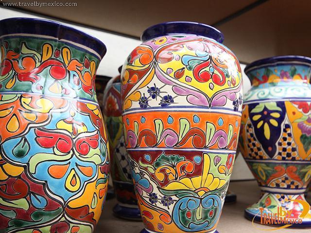 Dolores handcrafted pottery dolores hidalgo - Jarrones de ceramica ...