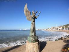 Escultura Angel de la Esperanza