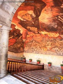 Palacio de gobierno de guadalajara guadalajara for El mural guadalajara jalisco