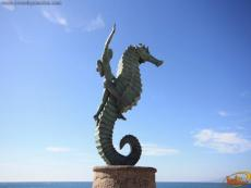 The Little Seahorse Sculpture