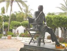 John Huston Sculpture