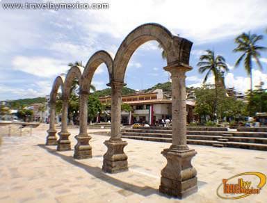 The Malecon Arches Puerto Vallarta