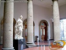 The theater lobby, Teatro Degollado  (Theater )