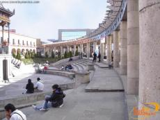 The Agora of Toluca was inaugurated in 1980, Plaza Gonzalez Arratia