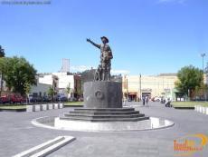 Plaza España o Plaza del Quijote
