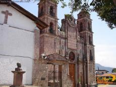 Temple of  the Lord of Santa Maria Ahuacatlan