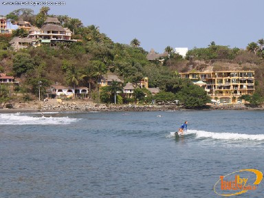 Surfing at Sayulita Beach