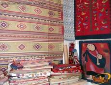 The Rugs and Spun Wool of Teotitlan del Valle