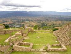 From the Heights - Monte Albán