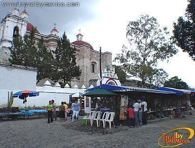 Artisan Market At Mitla Oaxaca