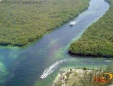 Tour por la Jungla, Laguna Nichupté