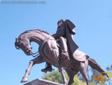 Statue Equestre du General Mariano Escobedo