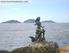 Escultura de la Reina de los Mares