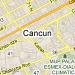 Mapa de Cancún, Q.Roo.