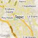 Mapa de Tepic, Nay.