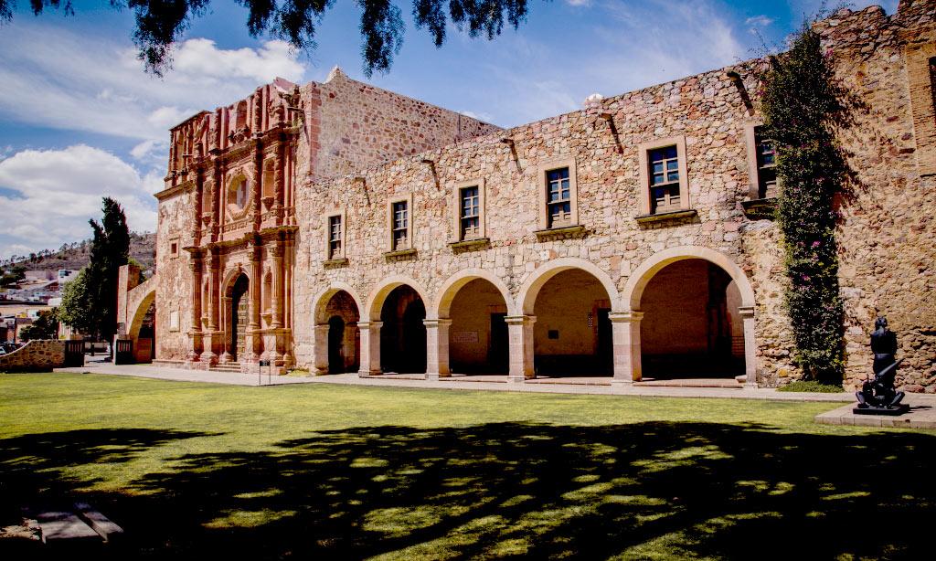 Ex convento de san francisco zacatecas travel by m xico for Jardin del convento